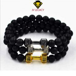 "Pulsera GYM ""Live Fit"" Estilo Mate"