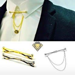 Clip para cuello de camisa y adorno para corbata JV Legacy