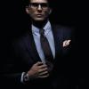 Clip para cuello y adorno para corbata modelo JV Legacy