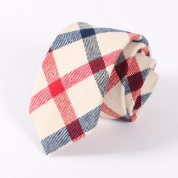 Corbata de colores de estilo Escocesa
