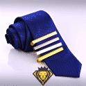 Set de 4 pisa corbatas